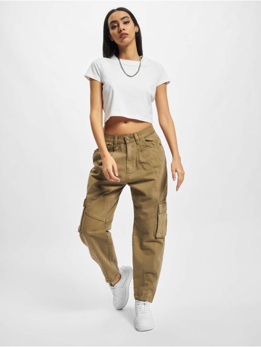Urban Classics Chino bukser Ladies Ballon Fit khaki