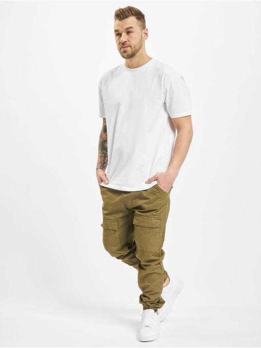 Urban Classics Chino bukser Front Pocket oliven