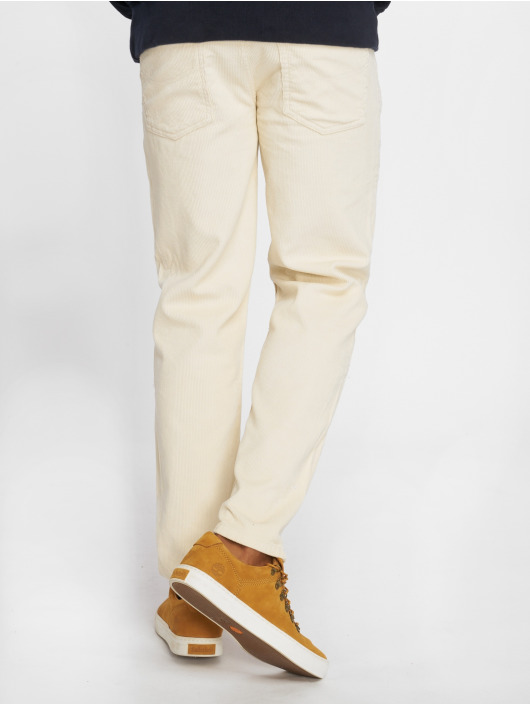 Urban Classics Chino pants Corduroy 5 Pocket beige