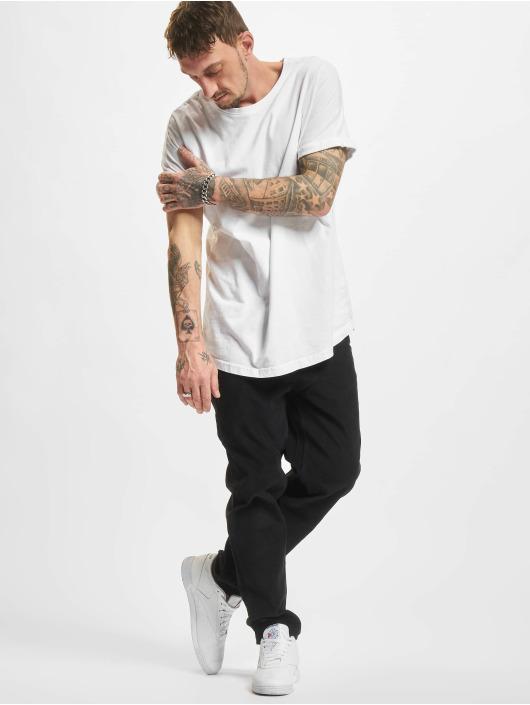 Urban Classics Chino pants Corduroy 5 Pocket black