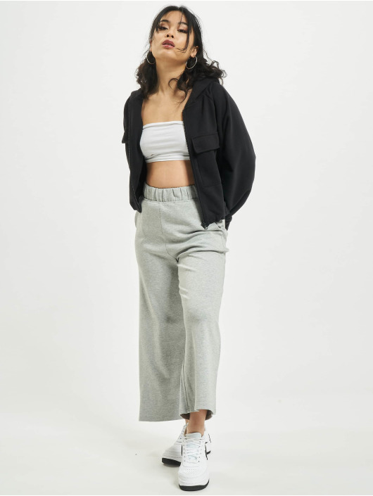 Urban Classics Chino pants Culotte gray