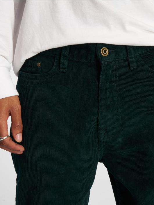 Urban Classics Chino pants Corduroy 5 Pocket green