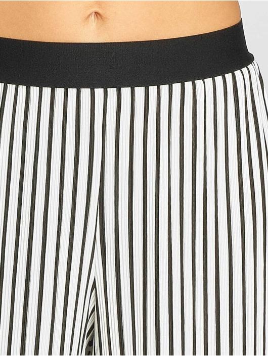 Urban Classics Chino pants Stripe Pleated Culotte white