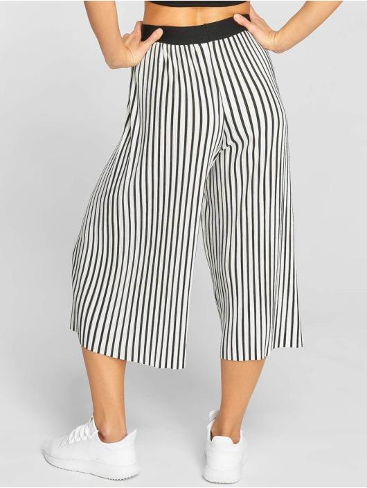 Urban Classics Chino Stripe Pleated Culotte white