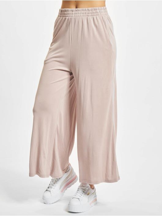 Urban Classics Chinot/Kangashousut Ladies Modal roosa