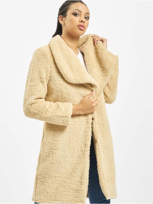 Urban Classics Coats Soft Sherpa beige