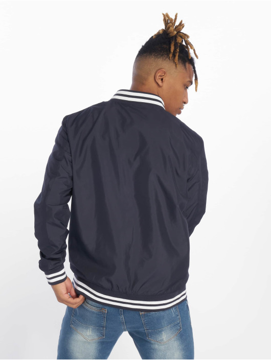 Urban Classics College Jacke Light College Blouson blau