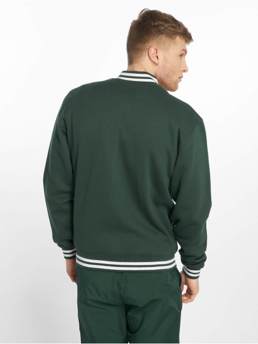 Urban Classics College Jacke Sweat grün