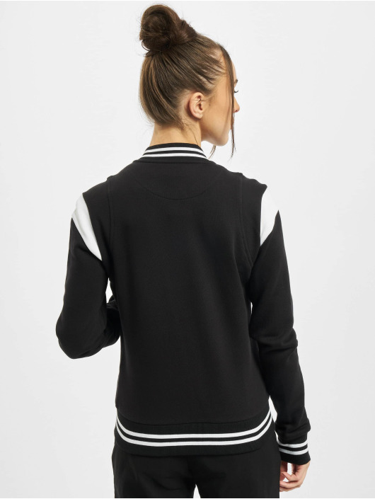 Urban Classics College Jacket Ladies Organic Inset College black