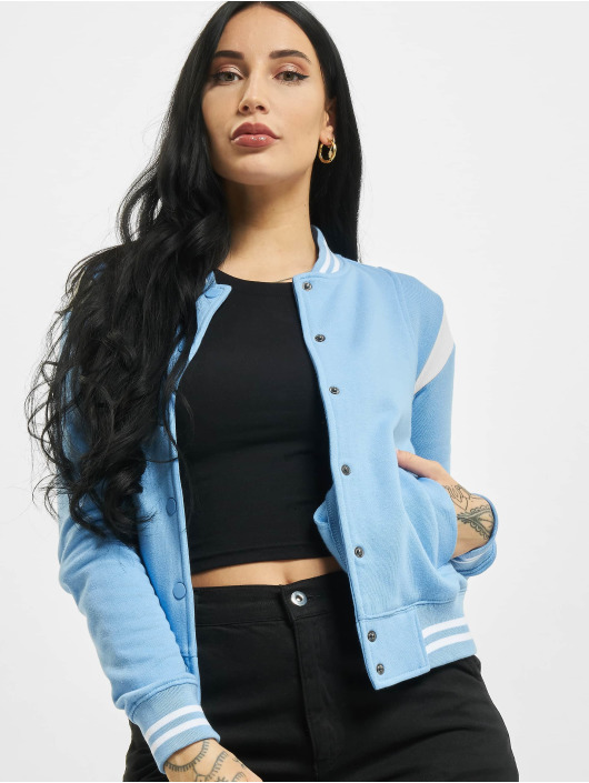 Urban Classics College Jacket Inset College blue