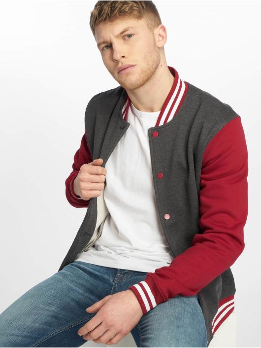 Urban Classics College Jacket 3-Tone gray