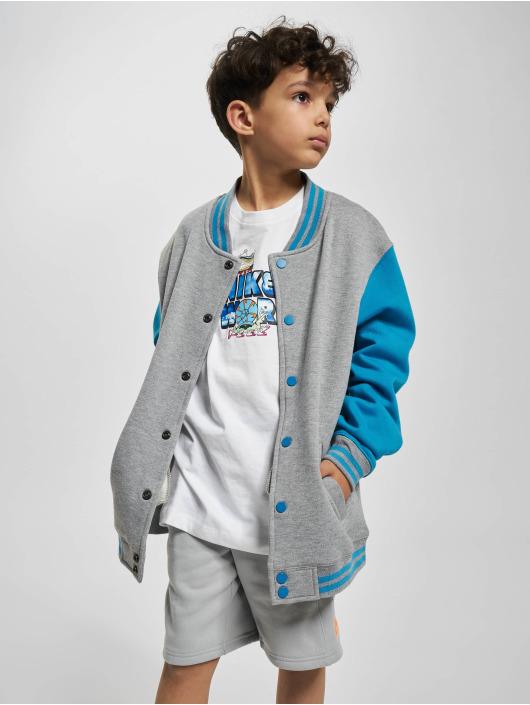 Urban Classics College Jacket Kids 2-Tone gray
