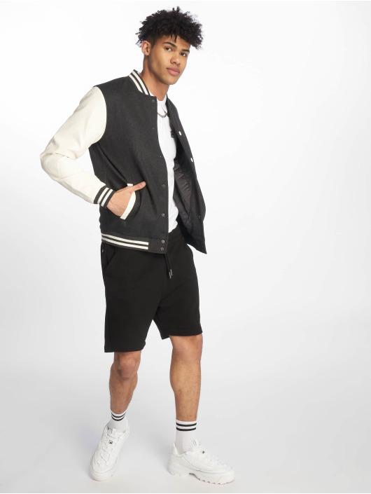 Urban Classics College Jacket Oldschool gray