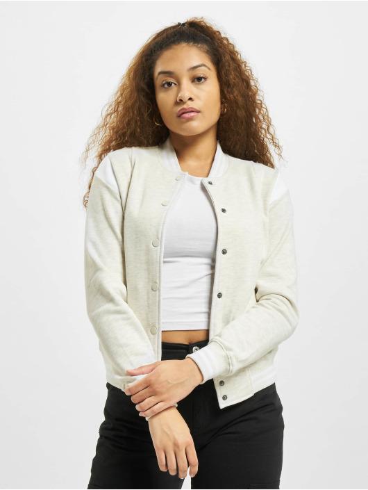 Urban Classics College Jacket Inset College gray