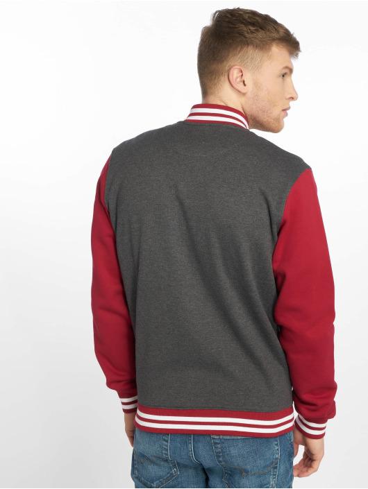 Urban Classics College Jacket 3-Tone grey