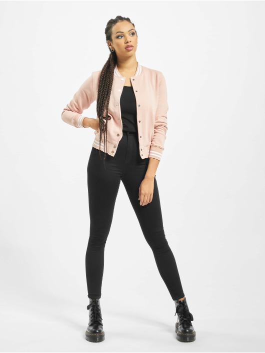 Urban Classics College Jacket College rose