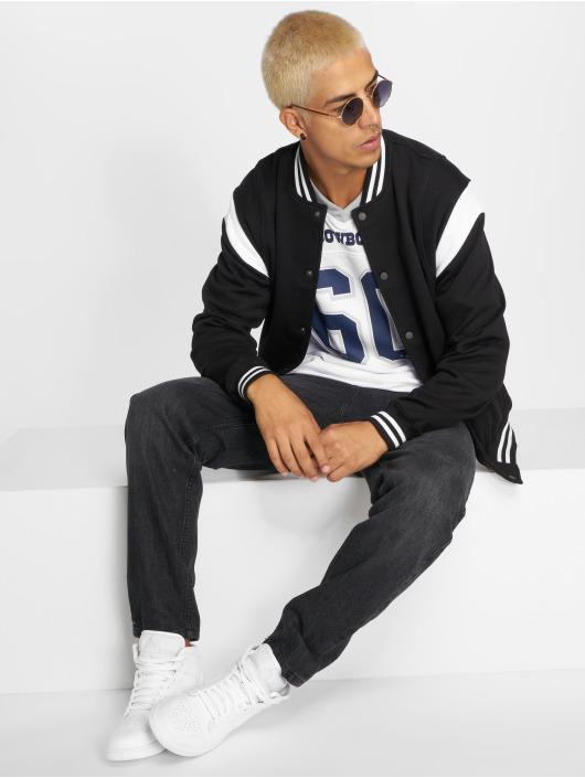 Urban Classics College Jackets Inset czarny