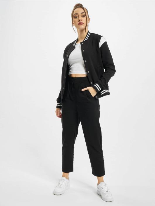 Urban Classics College Jackets Ladies Organic Inset College czarny