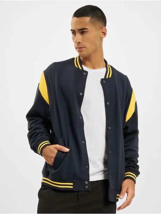 Urban Classics College Jackets Inset College niebieski