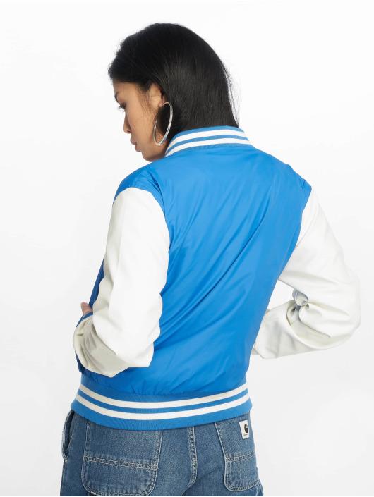 Urban Classics Collegejackor Ladies Light blå