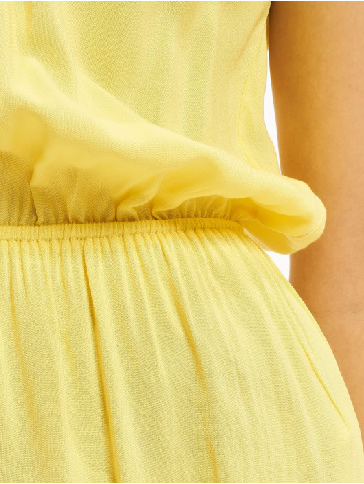Urban Classics Combinaison & Combishort Off Shoulder jaune