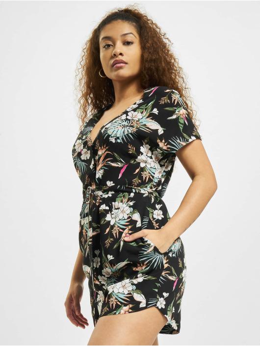 Urban Classics Combinaison & Combishort Ladies Short Viscose Belt noir