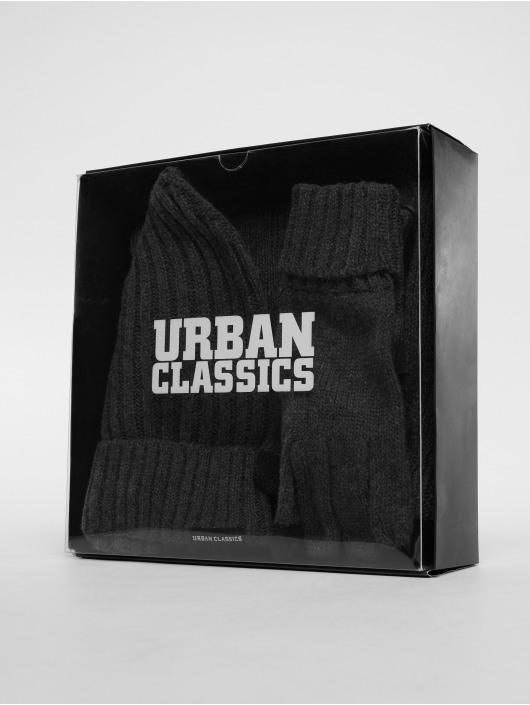 Urban Classics Czapki Winter Set szary