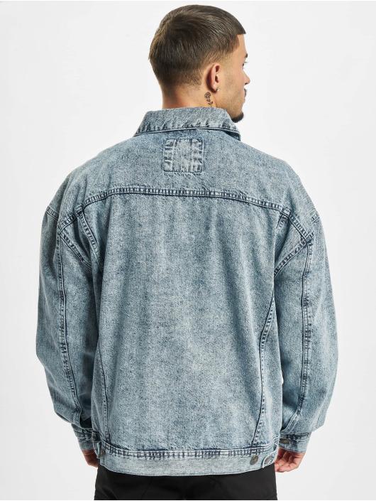 Urban Classics Džínová bunda Oversized Denim modrý