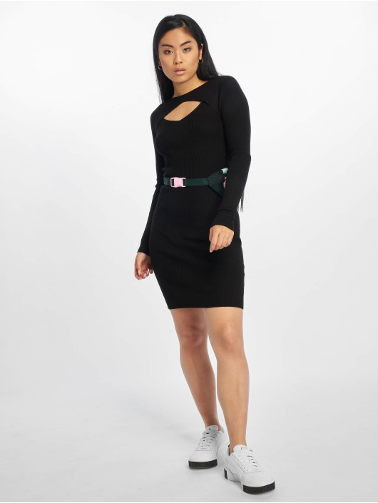 Urban Classics Dress Cut Out black
