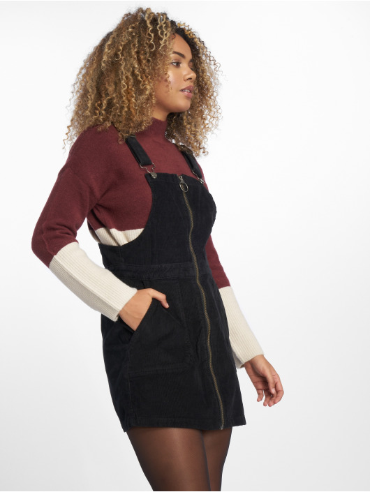Urban Classics Dress Corduroy Dungaree black