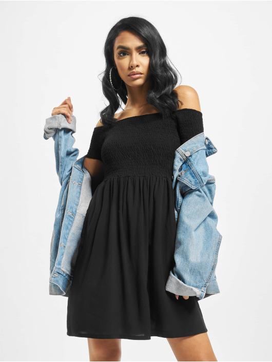 Urban Classics Dress Smoked Off black
