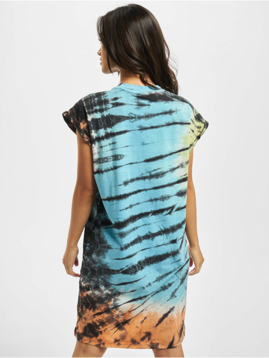 Urban Classics Dress Tie Dye black