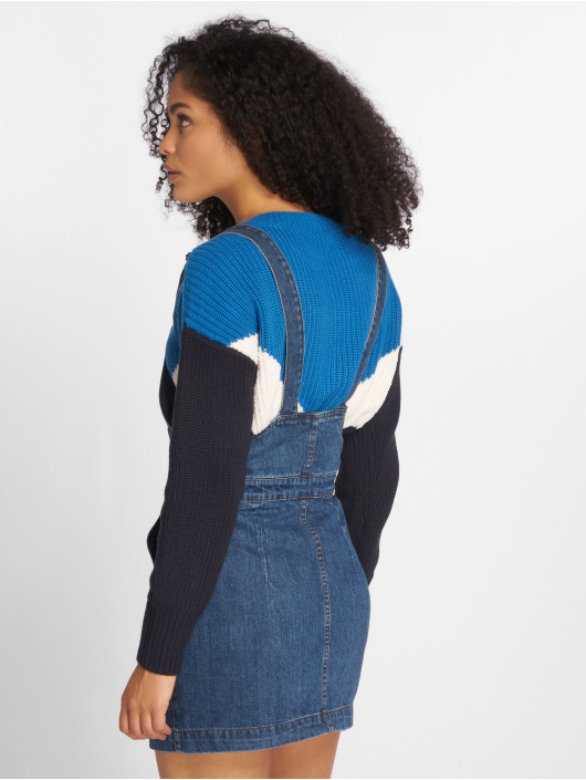 Urban Classics Dress Denim Dungarees blue