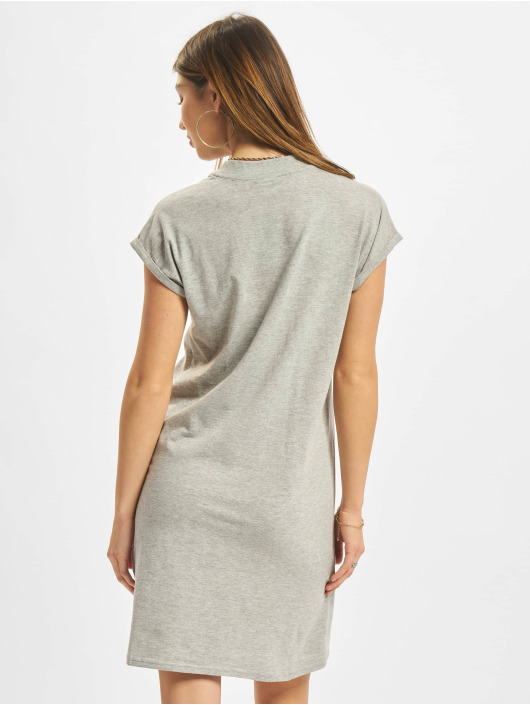 Urban Classics Dress Turtle Extended Shoulder grey
