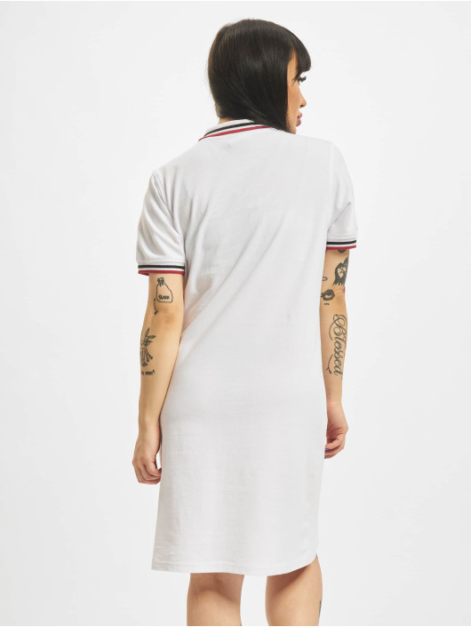 Urban Classics Dress Polo white