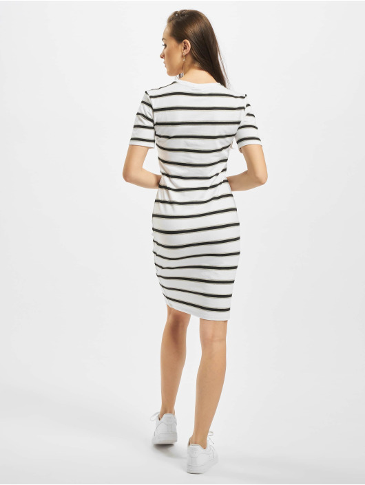 Urban Classics Dress Stretch Stripe white