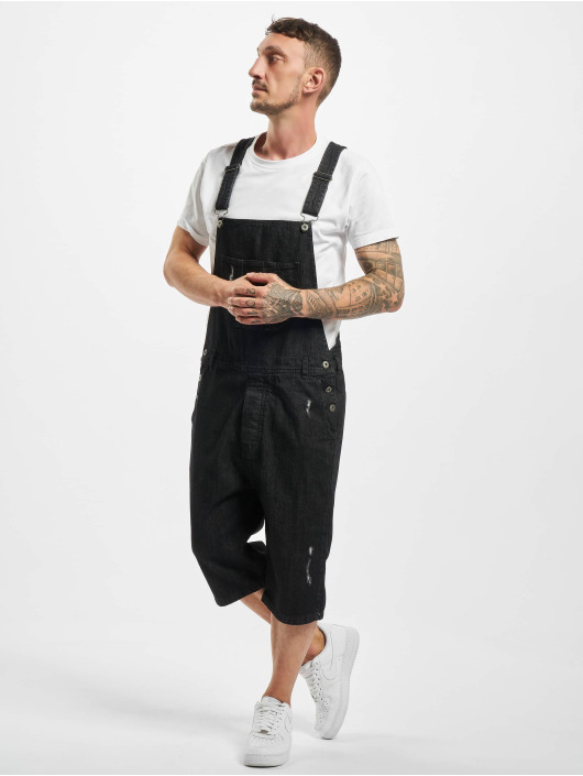 Urban Classics Dungaree Denim black