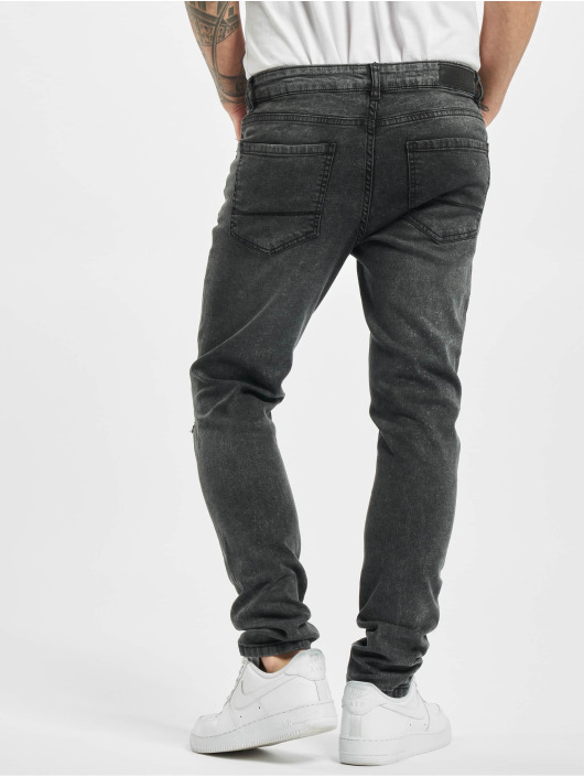 Urban Classics dżinsy przylegające Slim Fit czarny