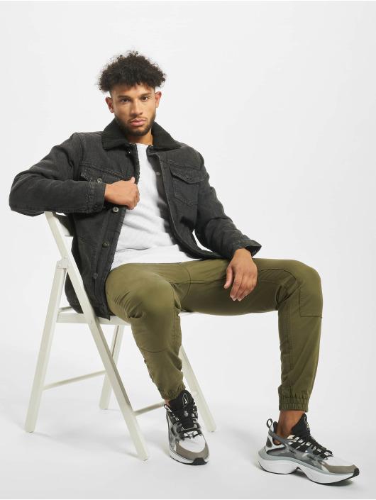 Urban Classics Farkkutakit Sherpa Lined Jeans musta