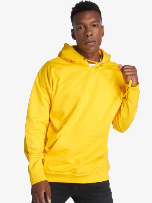 Urban Classics Felpa con cappuccio Oversized Sweat giallo