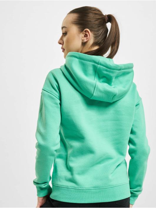 Urban Classics Felpa con cappuccio Ladies verde