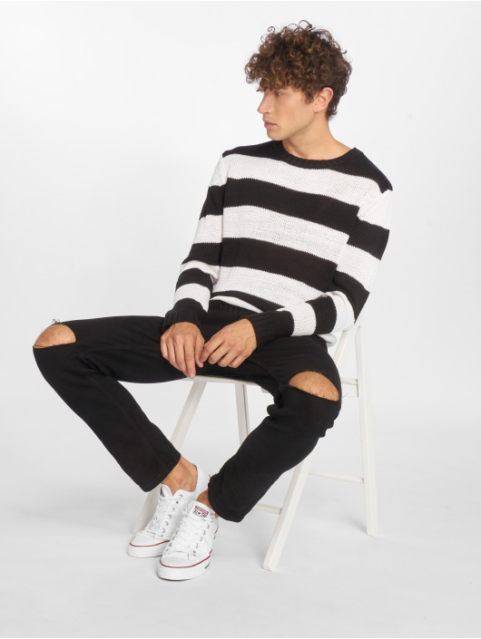Urban Classics Gensre Striped svart