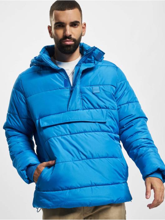 Urban Classics Gewatteerde jassen Pull Over blauw