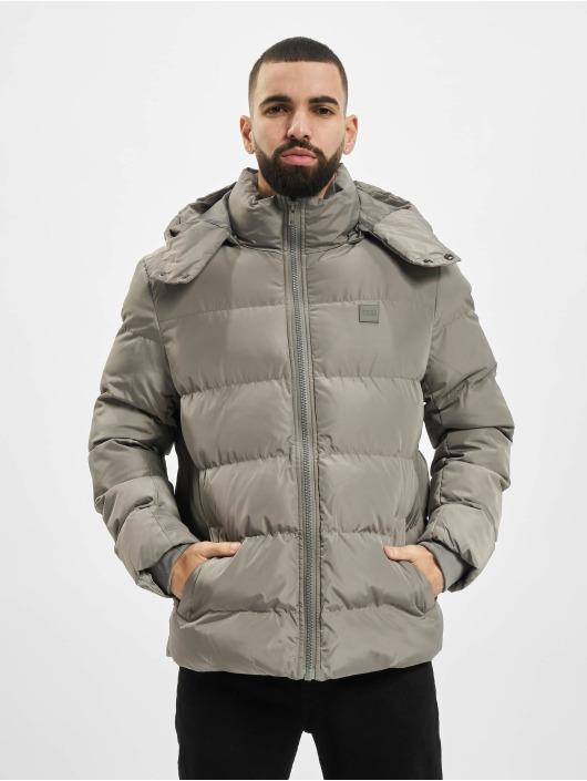Urban Classics Gewatteerde jassen Hooded Puffer grijs