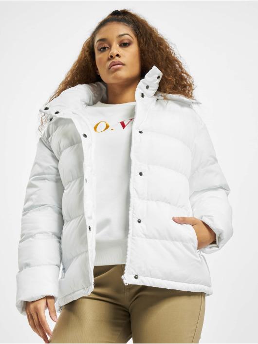 Urban Classics Gewatteerde jassen Hooded wit
