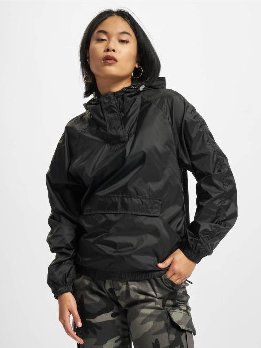 Urban Classics Giacca Mezza Stagione Ladies Transparent nero