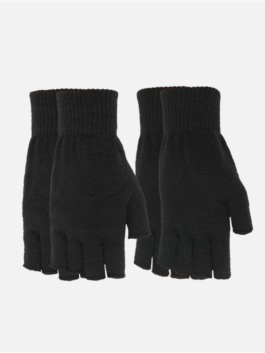 Urban Classics Guante Half Finger Gloves 2-Pack negro