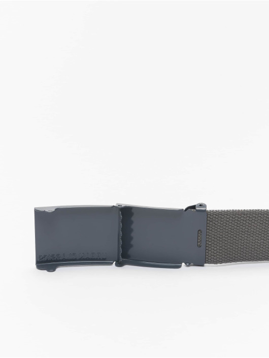 Urban Classics Gürtel Coloured Buckle grau
