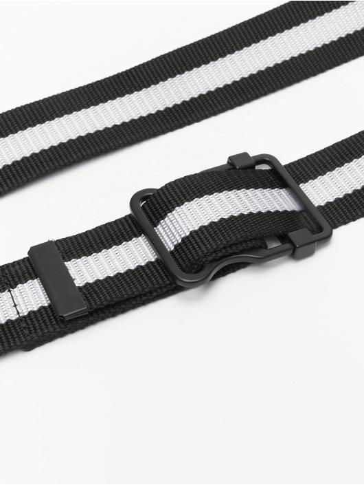 Urban Classics Gürtel Easy With Stripes noir