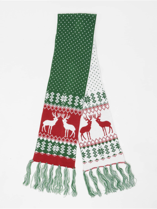 Urban Classics Halstørklæder/Tørklæder Christmas grøn